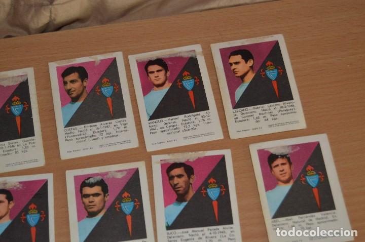 Cromos de Fútbol: LOTE DE 15 CROMOS - FHER - LIGA 70/71 - MIRA LAS FOTOS - R. C. CELTA - Foto 14 - 72116243