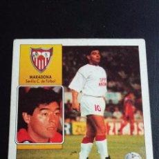 Cromos de Fútbol: ESTE 92/93 1992/1993 - MARADONA ( COLOCA ) - SEVILLA CF ( NUNCA PEGADO ). Lote 72323483