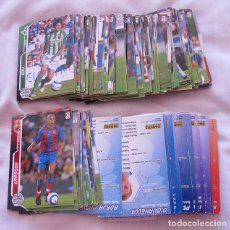 Cromos de Fútbol: LOTE DE 170 CROMOS MEGA CRACKS 2005-2006. Lote 72325795