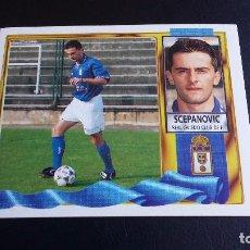 Cromos de Fútbol: ESTE 95/96 1995/1996 - SCEPANOVIC ( COLOCA ) - REAL OVIEDO - ( NUNCA PEGADO ) . Lote 72408951
