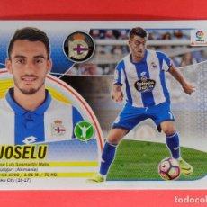 Cromos de Fútbol: ESTE 2016 2017 - 15 BIS - JOSELU - COLOCA - DEPORTIVO DE LA CORUÑA - 16 17 - LOGO SANTANDER. Lote 176239740