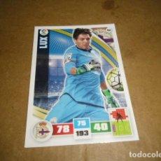 Cromos de Fútbol: TRADING CARD GAME PANINI LIGA BBVA ADRENALYN 2015/16 LUX PORTERO 2222. Lote 72855247