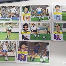 Cromos de Fútbol: LOTE DE CROMOS DE FUTBOL LIGA ESTE FICHAJES 82 83. Lote 72869679