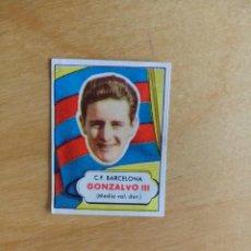 Cromos de Fútbol: EDITORIAL BRUGUERA 1952 1953 - 52 53 - GONZALVO III - FC BARCELONA. Lote 73298249