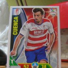 Cromos de Fútbol: ADRENALYN XL 2016-2017 16 17 Nº 179 CUENCA (GRANADA). Lote 73466191