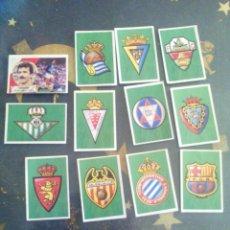 Cromos de Fútbol: LOTE DE 12 CROMOS EDICIONES ESTE AÑO 1989-90 NUNCA PEGADOS LIGA ESTE 89-90. Lote 73494979