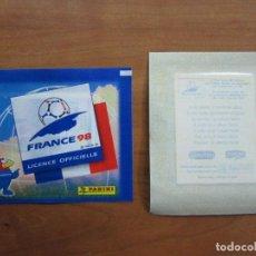 Cromos de Fútbol: SOBRE SIN ABRIR PANINI FRANCIA 98 FRANCE 1998 MUNDIAL - PROMOCIONALES DANONE - LA SERENISIMA. Lote 232613305