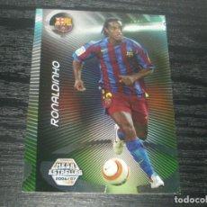 Cromos de Fútbol: -MEGACRACKS 06-07 : 379 RONALDINHO ( BARCELONA ) -- MEGA ESTRELLAS -- ERROR DE CORTE . Lote 74162783