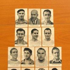 Cromos de Fútbol: CONSTANCIA DE INCA - ÁLBUM FOTOS DEPORTIVAS FHER 1942-1943, 42-43 - 14 CROMOS NUNCA PEGADOS. Lote 74717367
