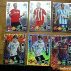 Cartes à collectionner de Football: ADRENALYN 09-10 CARD NUEVA EN PERFECTO ESTADO STAR MESSI BRILLANTINA GRUESA. Lote 204682078