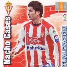 Cromos de Fútbol: ADRENALYN 2010 2011 - NACHO CASES (ACTUALIZACIÓN) - SPORTING GIJON - NUEVO.. Lote 184527847