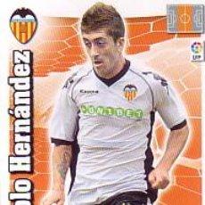 Cromos de Fútbol: ADRENALYN 2010 2011 - PABLO HERNANDEZ - VALENCIA CF - NUEVO. . Lote 117323926
