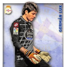 Cromos de Fútbol: MUNDICROMO 2015 #489 GERMAN LUX (R.C. DEPORTIVO). Lote 75004858