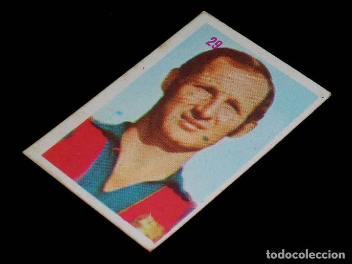 Nº 29 GALLEGO, F.C. BARCELONA. CROMO SIN PEGAR, FÚTBOL LIGA ESPAÑOLA 1975 / 1976, ED. MATEO MIRETE. (Coleccionismo Deportivo - Álbumes y Cromos de Deportes - Cromos de Fútbol)