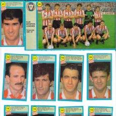 Cromos de Fútbol: ASES DE LA LIGA 1990/ 91, LOTE DE DÍEZ CROMOS, CLUB DEPORTIVO LOGROÑES. DIARIO DEPORTIVO AS. Lote 75099839