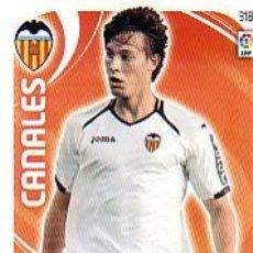 Cromos de Fútbol: ADRENALYN 2011 2012 - Nº 318 CANALES - VALENCIA CF - NUEVO. Lote 88818158