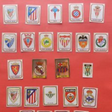 Cromos de Fútbol: LOTE 24 ESCUDOS CROMOS PANINI FUTBOL 82-83-84-85 LIGA TEMPORADA 1982-1983/1984/1985 CROMO CROM. Lote 75208955