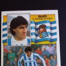 Cromos de Fútbol - ESTE 90/91 1990 1991 - GAJATE - REAL SOCIEDAD ( NUNCA PEGADO ) - 75261467
