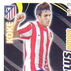 Cromos de Fútbol: ADRENALYN 2011 2012 - Nº 372 KOKE (PLUS JUNIOR) - ATLETICO MADRID - NUEVO. Lote 122750260