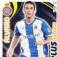 Cromos de Fútbol: ADRENALYN 2011 2012 - Nº 374 ÁLVARO (PLUS JUNIOR) - RCD ESPANYOL - NUEVO DE SOBRE. . Lote 94636746