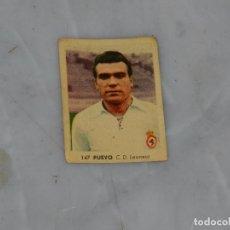 Cromos de Fútbol: CD LEONESA - 147 PUEYO - CAMPEONATOS NACIONALES DE FUTBOL 1956, RUIZ ROMERO, SIN PEGAR. Lote 180011865