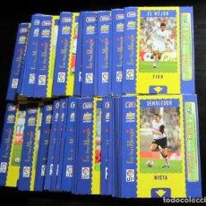 Cromos de Fútbol: MUNDICROMO MC FICHAS 2005 LOTE 44 FICHA MAGIC DISTINTAS TROQUELADAS EL MEJOR EL CRACK. Lote 75638055