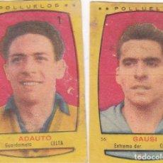 Cromos de Fútbol: CELTA - POLLUELOS - BRUGUERA - 1954-55 - ADAUTO GAUSI. Lote 75711003