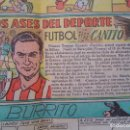 Cromos de Fútbol: ARIETA , CANITO , ARTECHE Y URIBE ( ATHLETIC CLUB BILBAO )- ASES DEL DEPORTE FUTBOL EDICIONES TBO. Lote 75774771