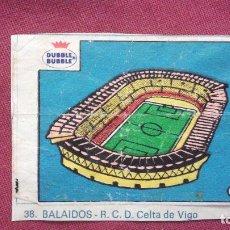 Cromos de Fútbol: DUBBLE BUBBLE FUTBOL MUNDIAL ESTADIO BALAIDOS CELTA DE VIGO. Lote 75797727
