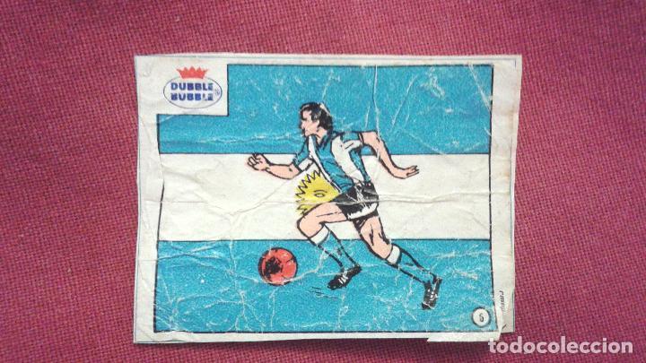 DUBBLE BUBBLE FUTBOL MUNDIAL CAMPEONES DE LA COPA DEL MUNDO ARGENTINA 1978 (Coleccionismo Deportivo - Álbumes y Cromos de Deportes - Cromos de Fútbol)