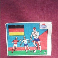 Cromos de Fútbol: DUBBLE BUBBLE FUTBOL MUNDIAL CAMPEONES DE LA COPA DEL MUNDO ALEMANIA 1954 1974 Y COPA EUROPA 1972 80. Lote 75799063