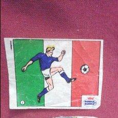 Cromos de Fútbol: DUBBLE BUBBLE FUTBOL MUNDIAL CAMPEONES DE LA COPA DEL MUNDO ITALIA 1934 1938 Y COPA EUROPA 1968. Lote 75799163
