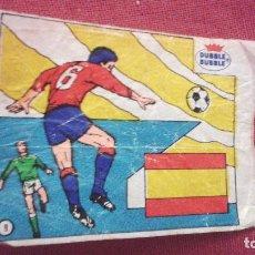 Cromos de Fútbol: DUBBLE BUBBLE FUTBOL MUNDIAL CAMPEONES DE LA COPA DE EUROPA ESPAÑA 1964. Lote 75799247
