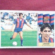 Cromos de Fútbol: 86-87 ESTE. FICHAJE 20 BARCELONA LINEKER SUSTITUYE. Lote 75803211