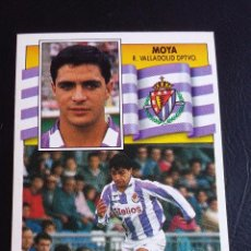 Football Stickers - ESTE 90/91 1990 1991 - MOYA - REAL VALLADOLID ( NUNCA PEGADO ) - 75822715