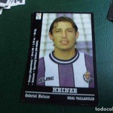 Cromos de Fútbol: HEINZE VALLADOLID 00 01 ED PANINI LIGA 2000 2001 FUTBOL CROMO - SIN PEGAR 126. Lote 75851359