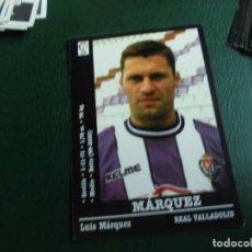 Cromos de Fútbol: MARQUEZ VALLADOLID 00 01 ED PANINI LIGA 2000 2001 FUTBOL CROMO - SIN PEGAR 132. Lote 109361339
