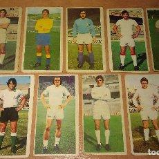 Cromos de Fútbol: LOTE DE 9 DIFÍCILES CROMOS DEL ALBUM LIGA DE FÚTBOL EDICIONES ESTE 1975 / 1976 75 /76 75 76. Lote 252257895