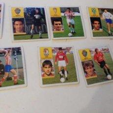 Cromos de Fútbol: LIGA 92-93 - LOTE DE 9 CROMOS. Lote 75924399