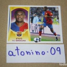 Cromos de Fútbol: ESTE 09 - 10 -- ETOO 16-A BARCELONA ( AGOTADO EN PANINI ). Lote 254728630