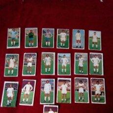 Cromos de Fútbol: VALENCIA EDICIONES ESTE 77 78 1977 1978 19 CROMOS COMPLETO. Lote 76789639