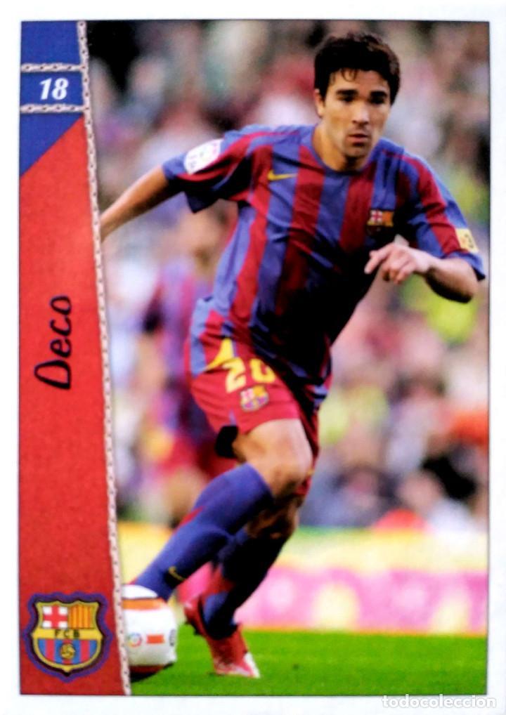 18 Deco F C Barcelona Mundicromo Mc Fichas Buy Old Football Stickers At Todocoleccion 89780131