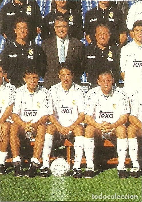 7fc4efc2a lote de 29 cards real madrid. temporada 96-97