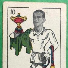 Cromos de Fútbol: PRUDEN - REAL MADRID CLUB DE FÚTBOL - CROMO BARAJA UNIVERSO - AÑO 1944. Lote 78037353