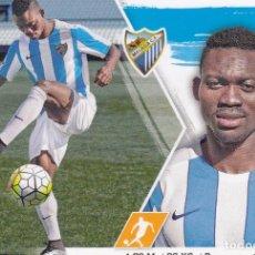 Cromos de Fútbol: ESTE 2015 2016 - MERCADO INVIERNO + ACTUALIZACIÓN Nº 25 ATSU - MALAGA CF - NUEVO DE SOBRE. Lote 201616065