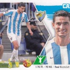 Cromos de Fútbol: ESTE 2015 2016 - MERCADO INVIERNO + ACTUALIZACIÓN Nº 27 CASTRO - MALAGA CF - NUEVO DE SOBRE. Lote 201616080