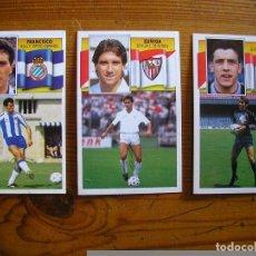 Cromos de Fútbol: ESTE 90-91 CROMO NUNCA PEGADO EN PERFECTO ESTADO COLOCA UNZUE. Lote 78303661