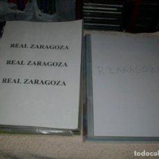 Cromos de Fútbol: -SUPER COLECCION DEL REAL ZARAGOZA . CIENTOS DE CROMOS . MC ESTE FHER ETC. Lote 78372429