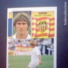 Cromos de Fútbol: ED ESTE RECUPERADO 1990 90 91 VALENCIA NANDO. Lote 78442385
