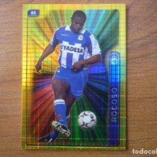 Cromos de Fútbol: MUNDICROMO FICHAS LIGA 2005 Nº 80 ANDRADE (DEPORTIVO CORUÑA) BRILLO CUADROS - FUTBOL CROMO 2004 05. Lote 78939477